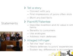 Trial Strategy