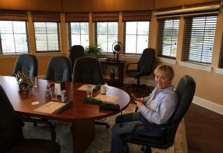 A break in team meetings