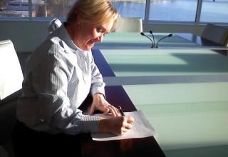The original incorporation signature - Suann Ingle