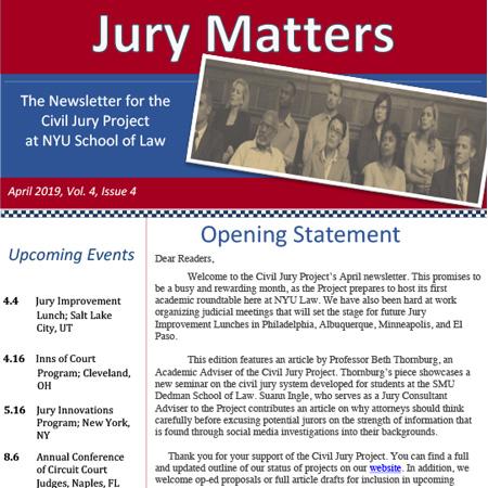 Jury Matters