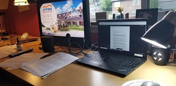 Suann Ingle's Desk
