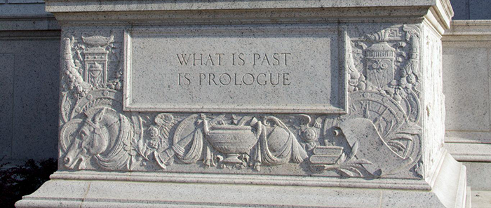 what is past prologue